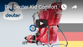 Deuter Kindertrage Video